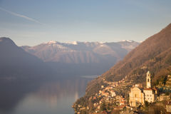 Lake Como, Italy Royalty Free Stock Image