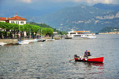 Lake Como Royalty Free Stock Images