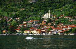 Lake Como Stock Image