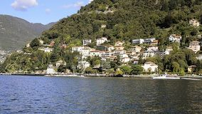 Lake Como stock video footage