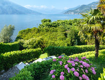 Lake Como (Italy) summer coast. Stock Images