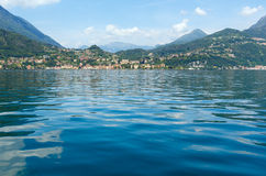 Lake Como (Italy) summer view Stock Images