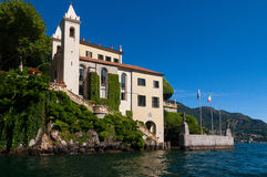 Lake Como, Italy. The Villa del Balbianello on Lake Como, Italy royalty free stock photos