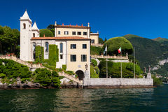 Lake Como, Italy. The Villa del Balbianello on Lake Como, Italy royalty free stock photography