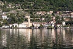 Lake of Como at Laglio Stock Photography