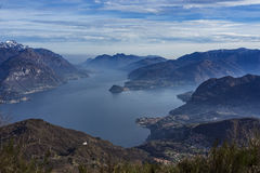 Lake Como landscape Stock Photos