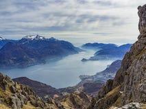 Lake Como landscape Stock Image