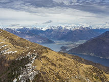 Lake Como landscape Royalty Free Stock Photography