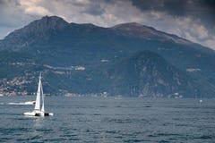 Lake Como landscape Royalty Free Stock Photos