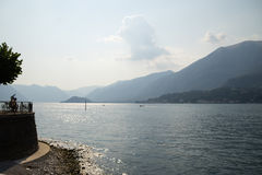 Lake Como landscape Stock Images