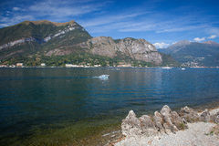 Lake Como landscape Stock Photo