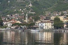 Lake of Como at Lenno Stock Images