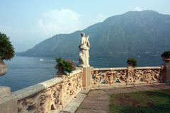 Lake Como in Lombardy, Italy stock photos