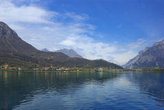 Lake Como in Lombardy, Italy Royalty Free Stock Photography