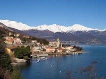 Lake of Como - Menaggio. Italy - Lake Como, Pianello del Lario view of the lake and the town royalty free stock photos