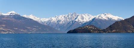 Lake of Como - Menaggio. Italy - Lake Como, Pianello del Lario view of the lake and the town royalty free stock photo