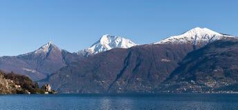 Lake of Como - Menaggio. Italy - Lake Como, Pianello del Lario view of the lake and the town royalty free stock photography