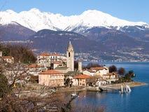 Lake of Como - Menaggio. Italy - Lake Como, Pianello del Lario view of the lake and the town royalty free stock images
