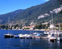 Lake Como, Menaggio. Royalty Free Stock Photo