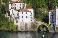 Lake of Como at Nesso Stock Photo