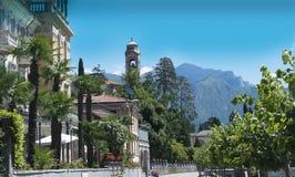 Lake Como in Northern Italy Stock Photos