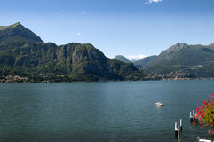 Lake Como in Northern Italy Royalty Free Stock Photos