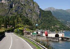 Lake Como in Northern Italy Royalty Free Stock Image