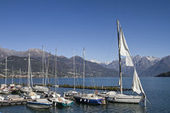 Lake Como Royalty Free Stock Photography