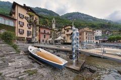 Lake of Como at Sala Comacina. Beautiful villages on the Lago di Como: Sala Comacina in the north of Italy Stock Photos