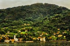 Lake Como San Giovanni Italy royalty free stock images