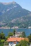 Lake Como from shore royalty free stock images