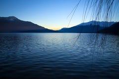 Lake Como in Summer Royalty Free Stock Photos