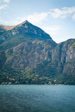 Lake Como Town Stock Image