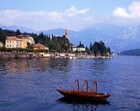Lake Como, Tremezzo, Italy. Stock Photos