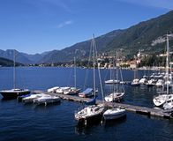 Lake Como, Tremezzo, Italy. Royalty Free Stock Images