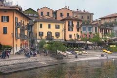 Lake of Como at Varenna stock images