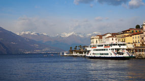 Lake Como in Varenna, Italy Royalty Free Stock Photography