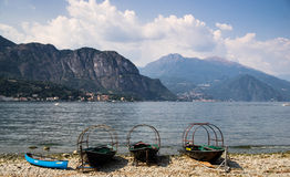 Lake Como view on Bellagio Stock Photo
