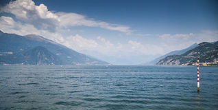 Lake Como view on Bellagio Royalty Free Stock Images