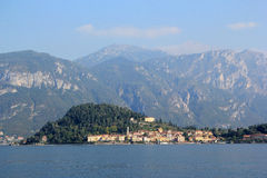 The Lake Como. View of the Lake Como in Italy Royalty Free Stock Images