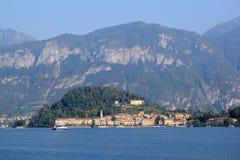 The Lake Como. View of the Lake Como in Italy Stock Photos