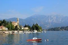 The Lake Como. View of the Lake Como in Italy Royalty Free Stock Photos