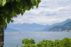 Lake Como. View to Lake Como, Italy Stock Photography