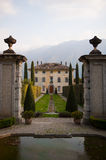 Lake Como villa Royalty Free Stock Photo