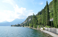 Lake Como. From villa Monastero. Italy stock images