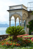 Lake Como from villa Monastero. Italy Royalty Free Stock Photo