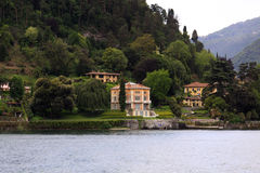 Lake Como villas Stock Photos