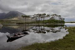 A Lake in Connemara Stock Photos