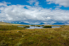 Lake in Connemara in Ireland Stock Image