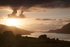 Lake at Connemara National Park, County Galway Royalty Free Stock Photography
